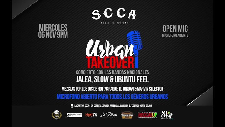 Urban Takeover - Ubuntu Feel, Jalea & Slow en Vivo!