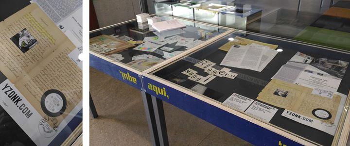 Exposição de Arte Postal - aqui, 'ᴉnbɐ - #007