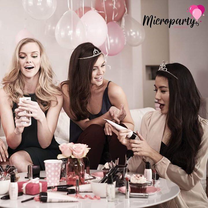 MicroParty: Sessão de Beleza para Presentes Personalizados