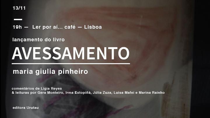 Lançamento: Avessamento, Maria Giulia Pinheiro