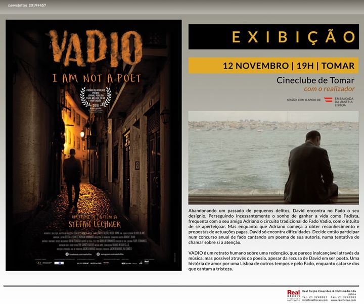 Documentário VADIO em Tomar