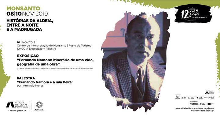 Exposição + Palestra: Fernando Namora