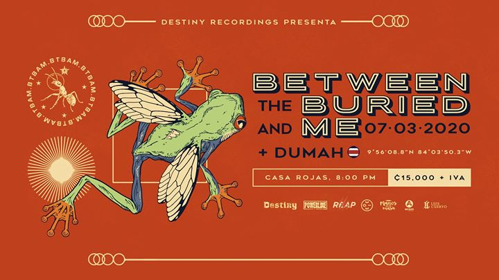 Between the Buried and Me en Costa Rica