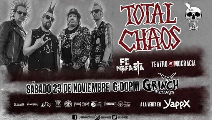 Total Chaos en Costa Rica (Evento Oficial).