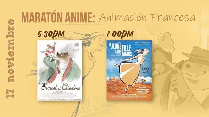 Maratón Anime Noviembre: Animación francesa