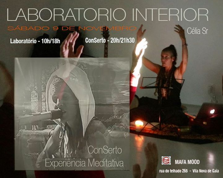 Laboratório Interior + ConSerto-Experiência Meditativa c CéliaSr