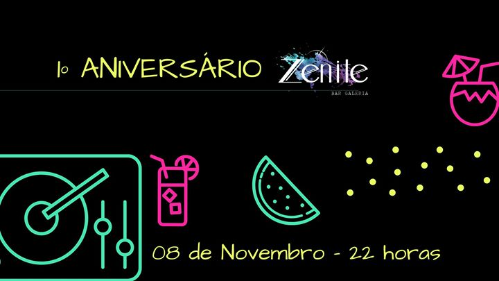 1º Aniversário do Zénite - Dance Party