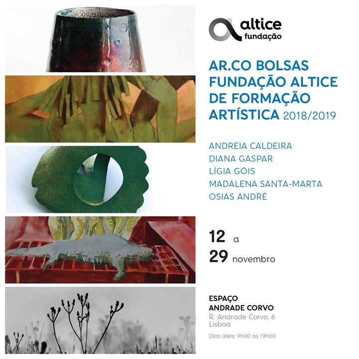 Exposição Ar.Co Bolsas Fundação Altice de Formação Artística