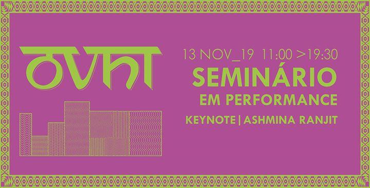 Seminário em Performance – Ashmina Ranjit