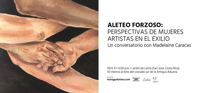 Conversatorio: Perspectivas de Mujeres Artistas en el Exilio