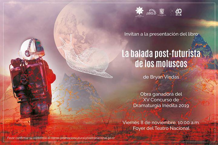Presentación del libro La balada post futurista de los moluscos