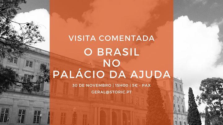 O Brasil no Palácio da Ajuda (visita guiada)