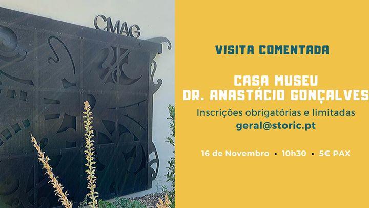 Visita à Casa-Museu Dr. Anastácio Gonçalves