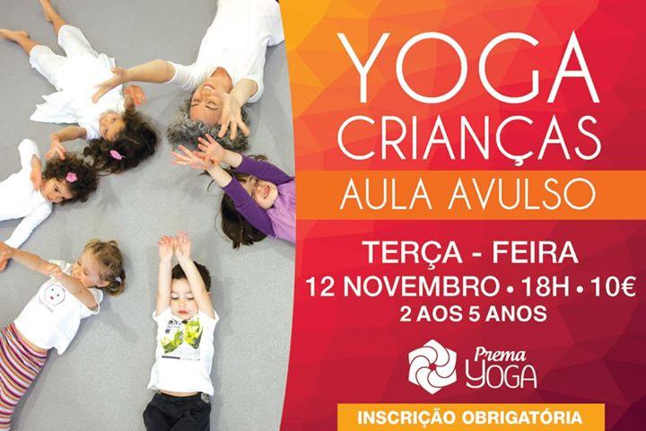 YOGA Crianças - Aula Avulso