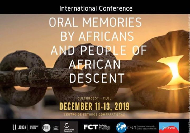 ORAL MEMORIES OF AFRICANS AND  PEOPLE OF AFRICAN DESCENT