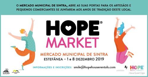 HOPE Market - 1 e 8 de Dezembro de 2019