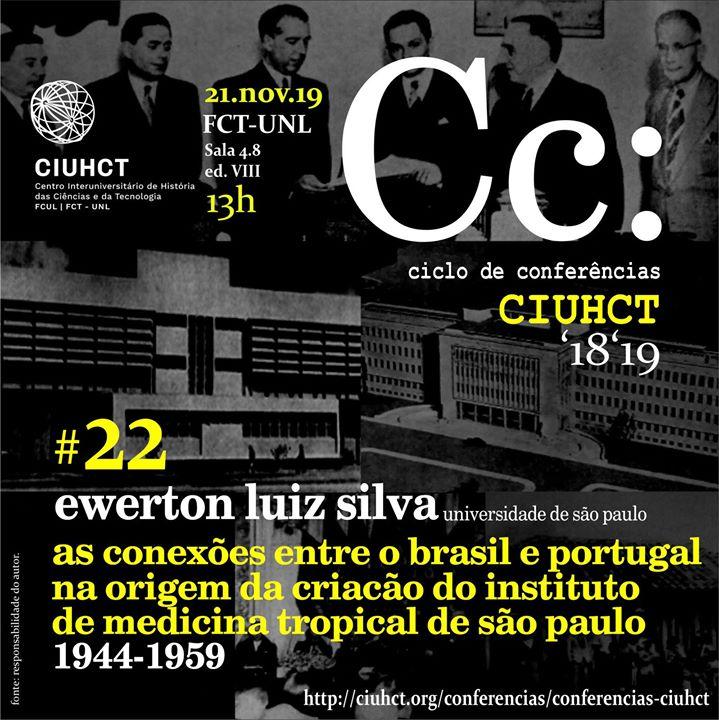 Conferência Ciuhct, com Ewerton Luis Souza