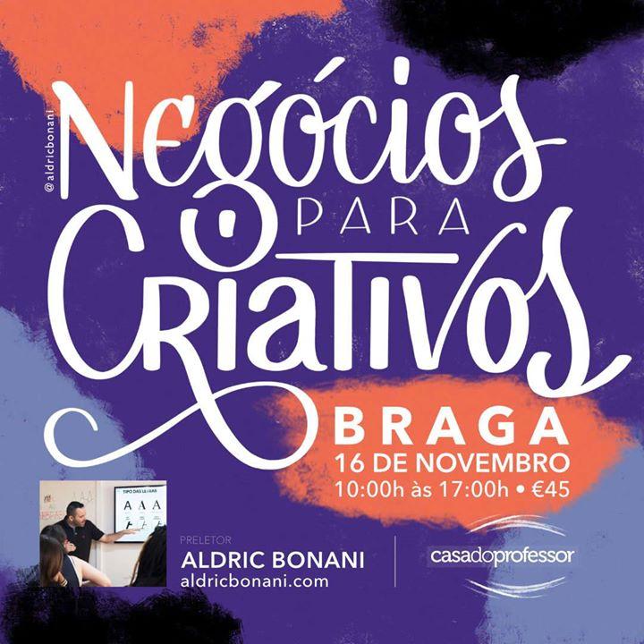 Negócios para Criativos com Aldric Bonani