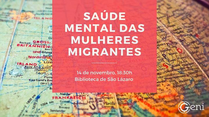 Saúde Mental das Mulheres Migrantes