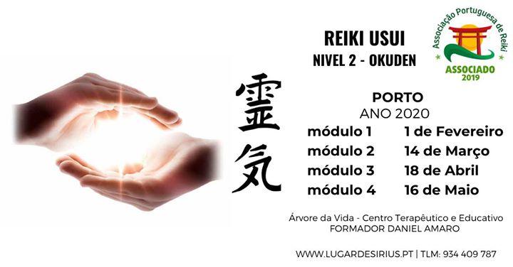 Curso de Reiki Usui - Nível 2
