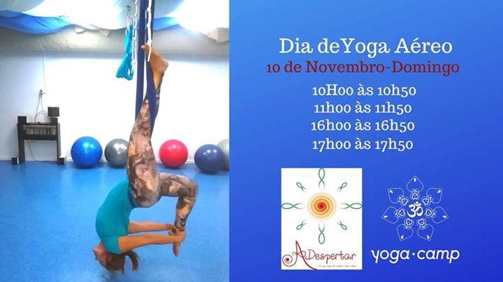 Dia de Yoga Aéreo
