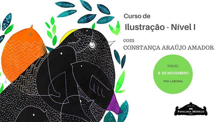 Curso de Ilustração: Nível 1 com Constança Araújo Amador