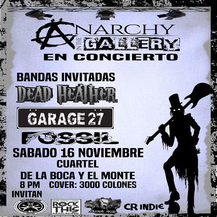 Anarchy In The Gallery En El Cuartel
