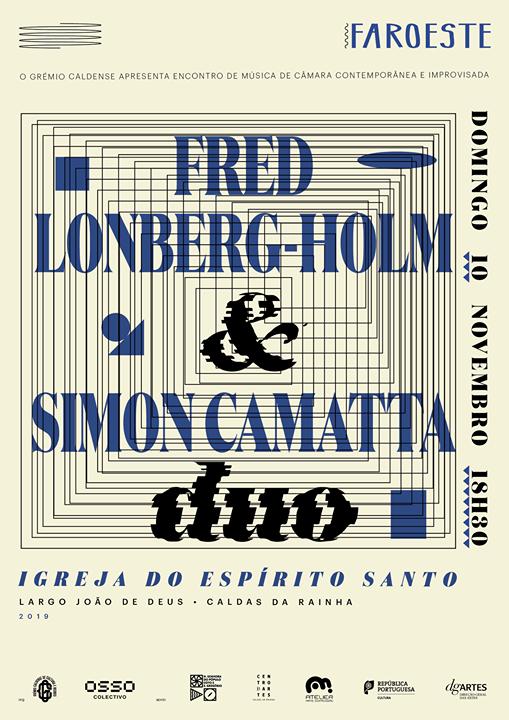 Faroeste-EMCCI: Fred Lonberg-Holm/ Simon Camatta Duo