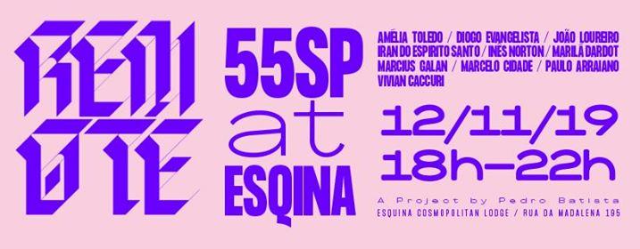55SP apresenta Remote