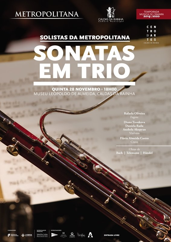 Solistas da Metropolitana. Sonatas em Trio