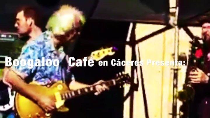 Tonky Blues Band concierto en Boogaloo Cáceres