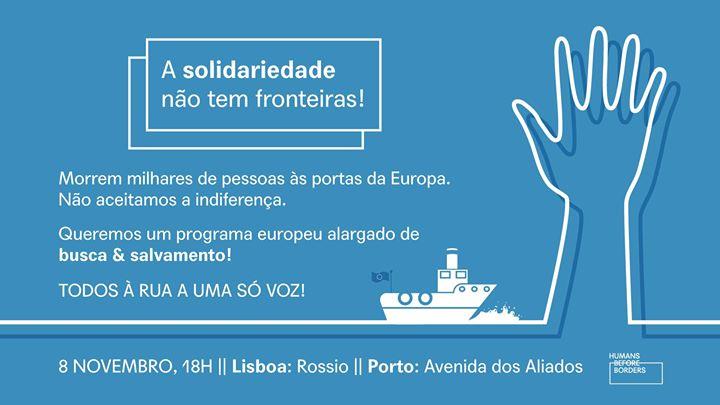 Manifesta-Te por uma Europa mais Humana - Lisboa