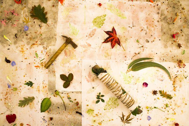 Oficina Prática: Impressão Botânica em Tecido