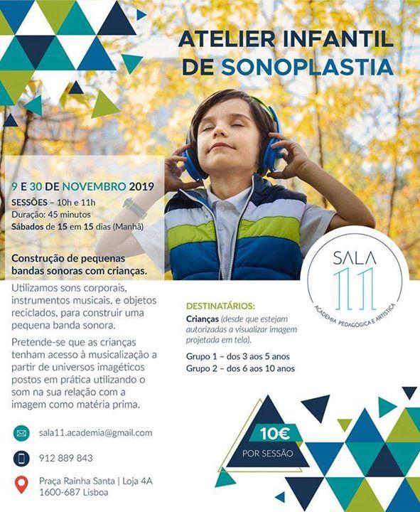 Atelier Infantil de Sonoplastia