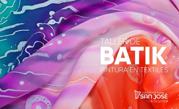 Taller Batik: pintura en textiles