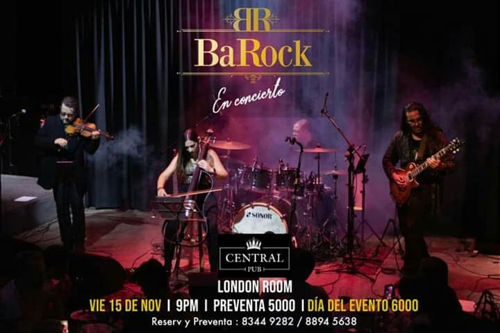 BaRock en el London Room