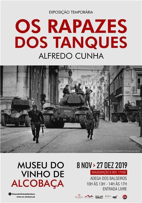 exposição :: Os Rapazes dos Tanques - Museu do Vinho de Alcobaça