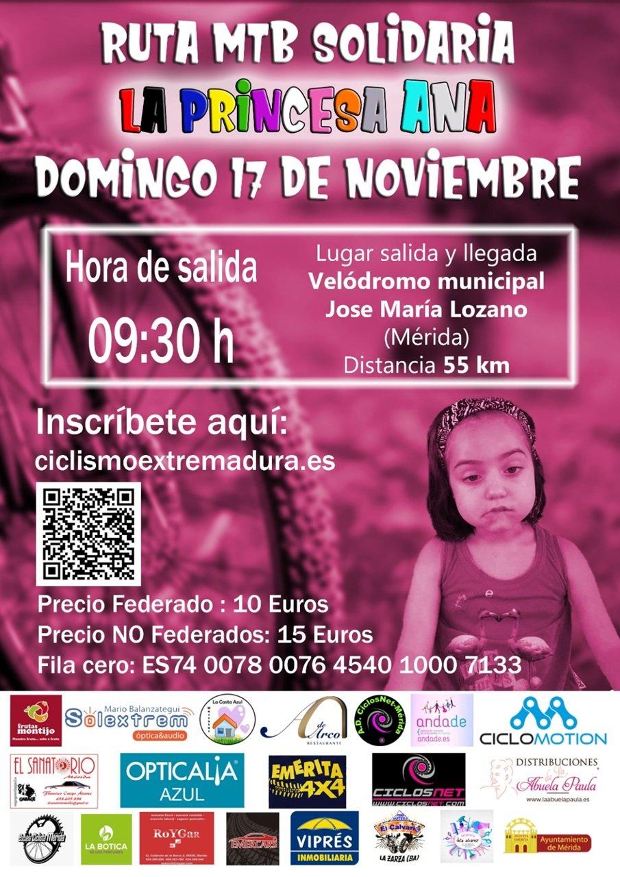Ruta MTB Solidaria a favor de La Princesa Ana