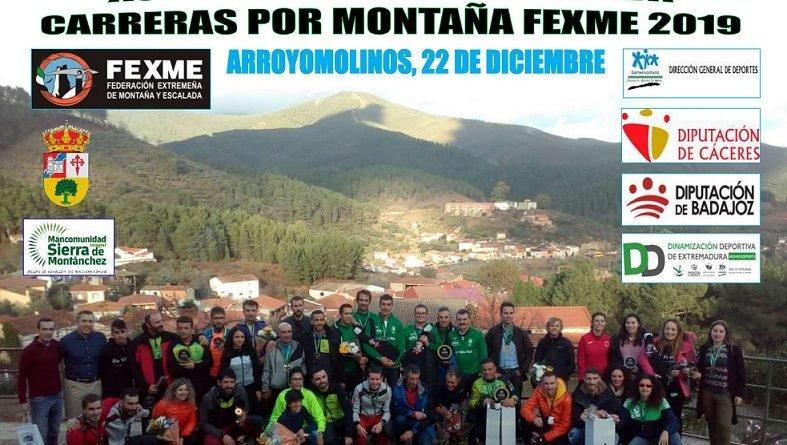 Arroyomolinos acogerá la Actividad Fin de Temporada de Carreras por Montaña 2019