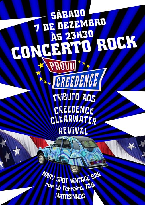 Proud Creedence tributo a Creedence Clearwater Revival