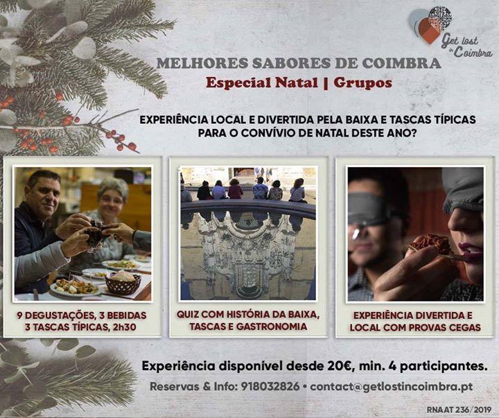Melhores Sabores de Coimbra/ Coimbra's Best Flavours| Christmas