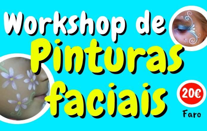 Workshop de Pinturas Faciais - iniciação