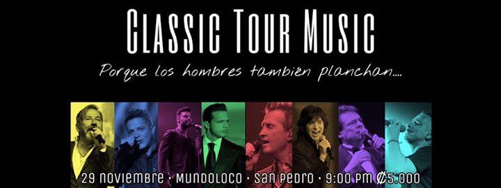 Classic Tour Music Porque los hombres también planchan