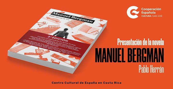 Presentación de la novela Manuel Bergman