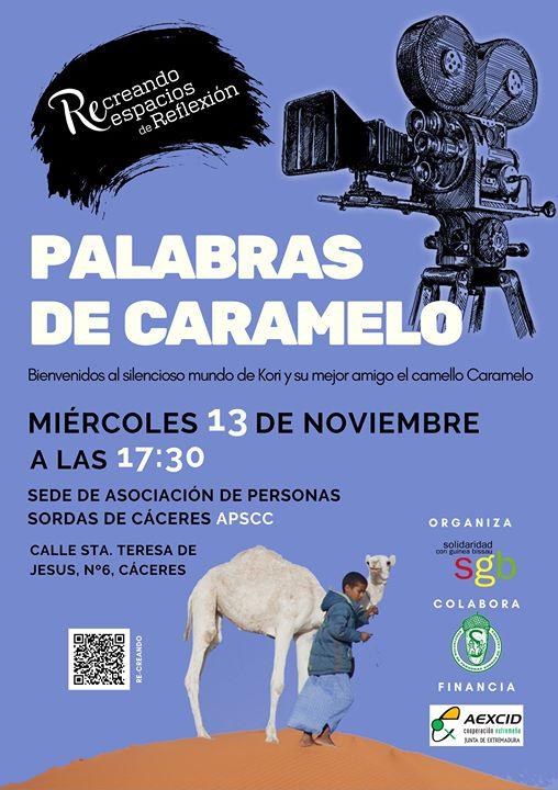 Palabras de Caramelo. Ciclo de Cine y Derechos Humanos