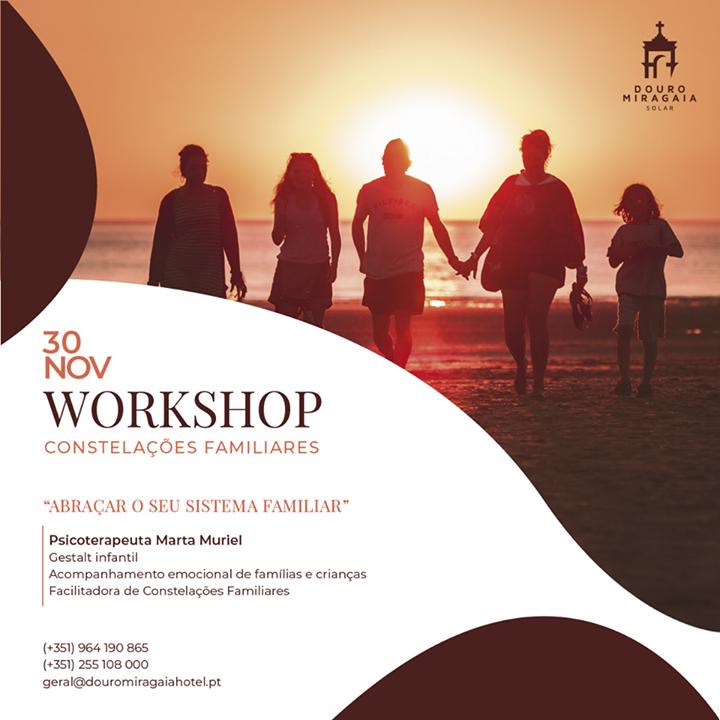 Workshop Constelações Familiares: abraçar o seu sistema familiar