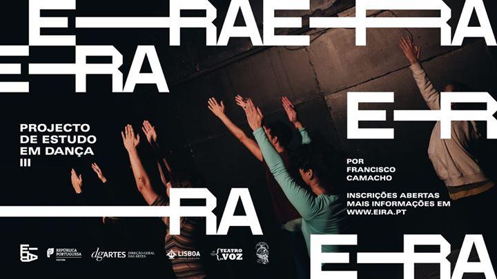 Projecto de Estudo em Dança III, orientado por Francisco Camacho
