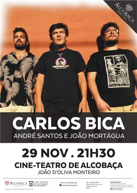 música - Carlos Bica e Convidados | 75 anos da inauguração - 15 anos da reabertura do Cine-Teatro de Alcobaça
