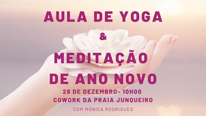Aula de Yoga com Meditação de Ano Novo