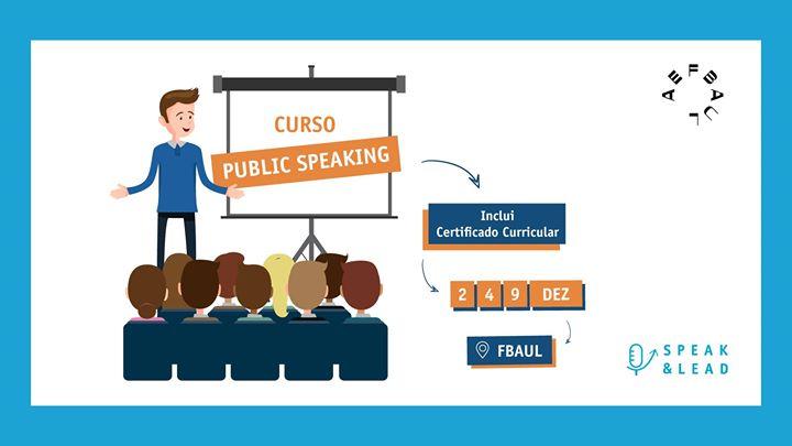 Curso Public Speaking - FBAUL